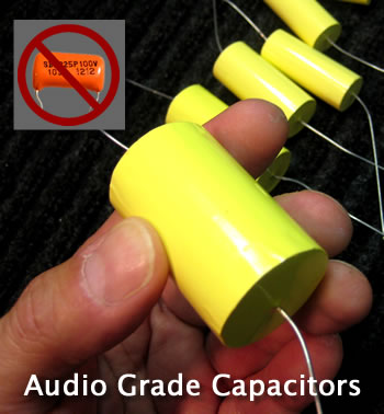 Pultec Capacitors Custom Audio Grade