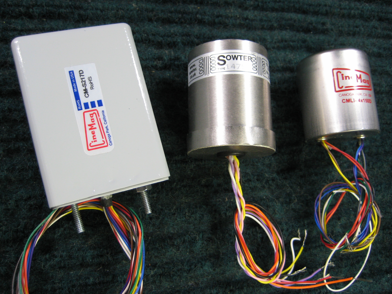 CineMag CM-S217D Pultec Output Transformer and CineMag CMLI 4x150D Input Transformer, Sowter 1475 Interstage Transformer